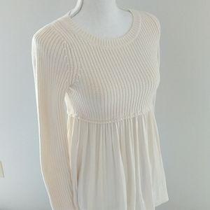 Kimchi Blue Sweaters - Kimchi Blue • Ivory Flowy Sweater